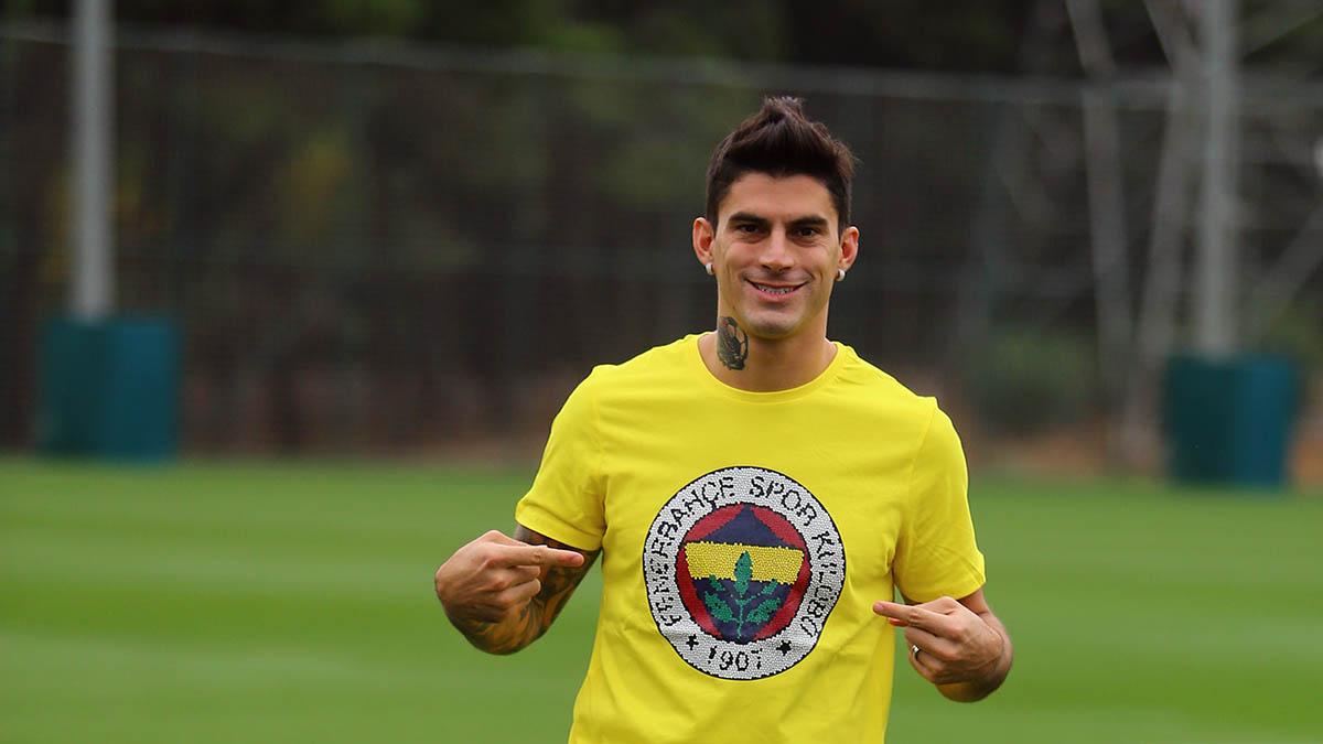 Yeni transferimiz Diego Perotti'den açıklamalar - Fenerbahçe Spor Kulübü